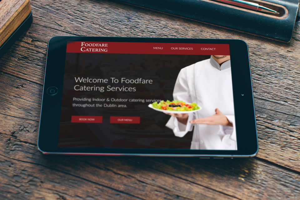 Cafe Studios Design - Portfolio - Food Fare iPad